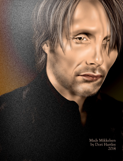 Mads Mikkelsen by Dori Hartley