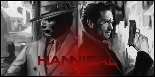 Hannibal S3 Promo Poster by Dori Hartley