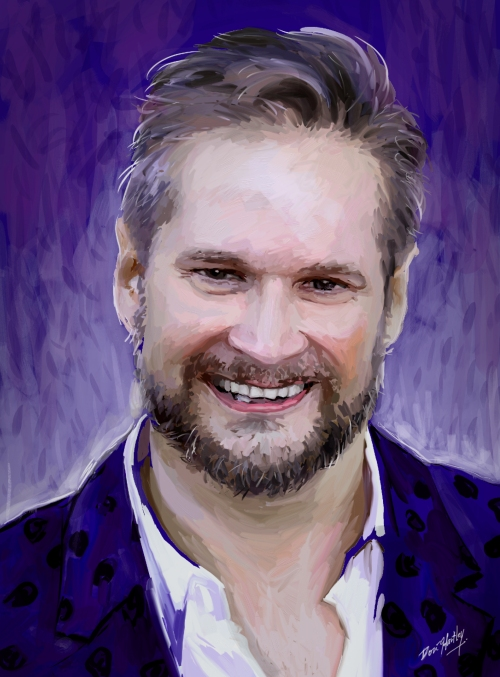 Bryan Fuller by Dori Hartley
